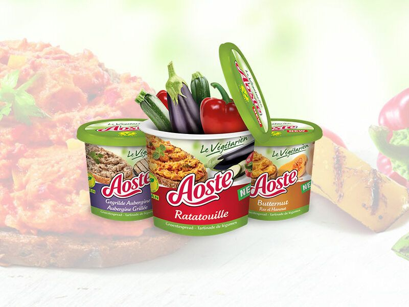 Aoste vegetarien spreads