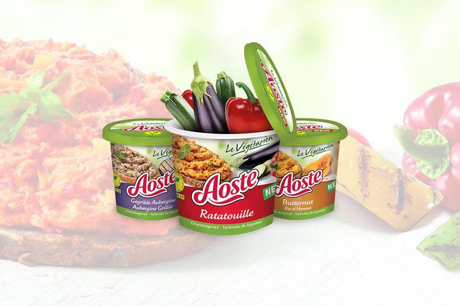 Aoste vegetarien spreads
