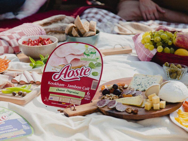 Aoste Kookham op Picknick