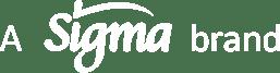 Sigma brand logo white