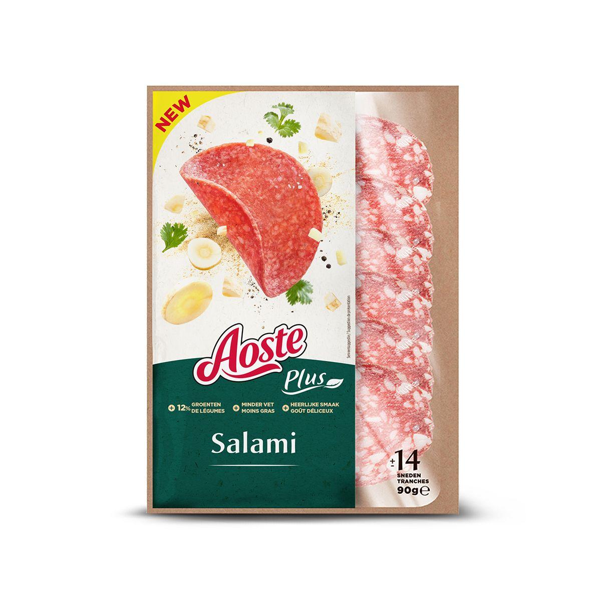 Aoste plus salami